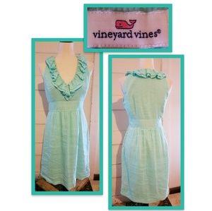 Vinyard Vines Shift Midi Dress